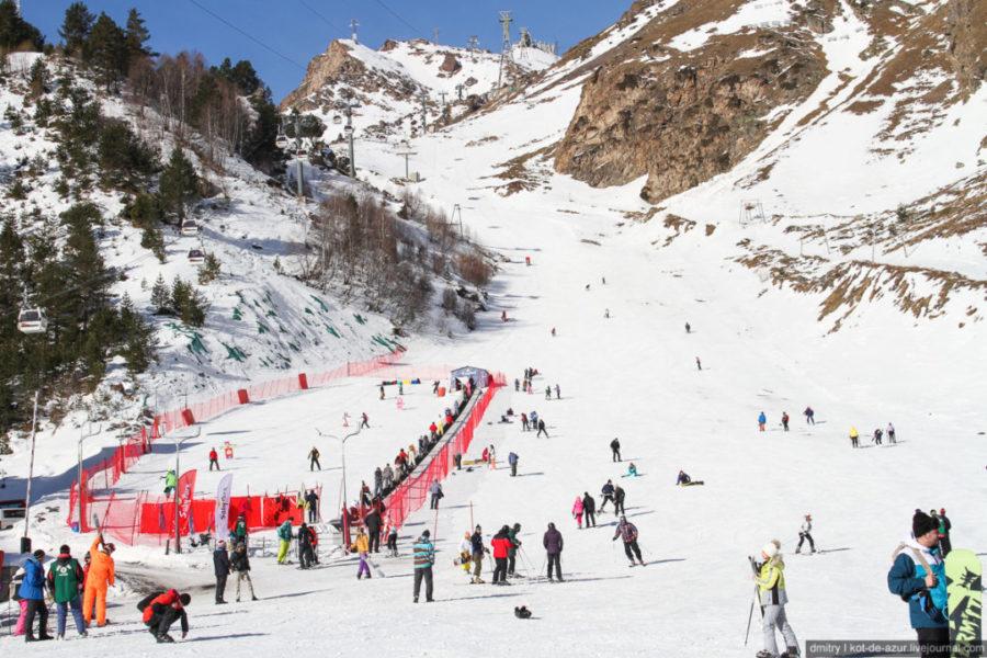 Лучшие горнолыжные курорты Кавказа